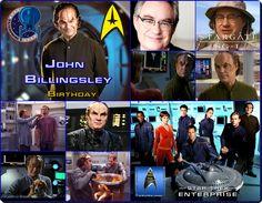 Happy birthday //  John Billingsley [55] John Billingsley, Happy Birthday John, Star Trek Series, Birthday Star, Star Trek Enterprise, Stars, Movie Posters, Movies, Films