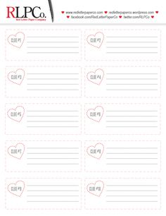 FREE scavenger hunt clue printable!  Perfect for valentine's day with kids!