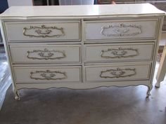 Before - French Provincial Dresser
