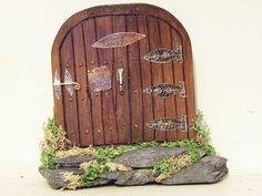 Fairy Door Real Fairies, Fairy Doors, Outdoor Structures