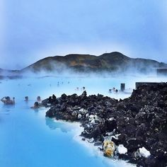 In order to relax at Blue Lagoon, you need to pre-book your visit :) #BlueLagoonIceland #Iceland