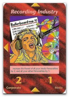 Illuminati Card Recording Industry