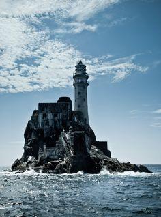 Fastnet Rock Lighthouse ·carraig aonair © Braun Natascha …