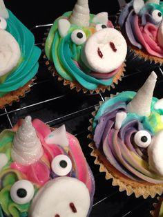 Unicorn cupcakes                                                       …