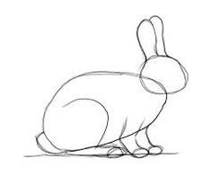 How To Draw Easter Bunny Step By Step Easter Seasonal