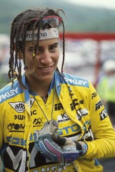 missy giove, my first bike heroine