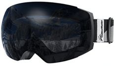 OutdoorMaster Ski Goggles PRO - Frameless, Interchangeable Lens Protection Snow Goggles for Men & Women Best Ski Goggles, Snowboard Goggles, Ski And Snowboard, Snowboarding, Best Ski Resorts, Best Skis, Snow Skiing, Lens, Top