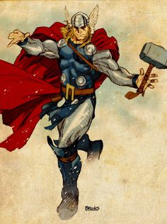 Thor by Mark Brooks