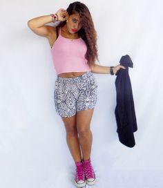 Cotton Crop Top For Summer.#kissmylook