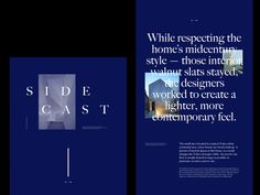 Sidecast Website by Hrvoje Grubisic - Dribbble Creative Inspiration, Ui Inspiration, Identity, Packaging, Branding, Creative Portfolio, Graphic Design Posters, Web Design, Typography