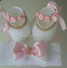 Zapatos con perlas