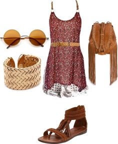 """""""Festival Outfit"""" by bethanybull on Polyvore"""