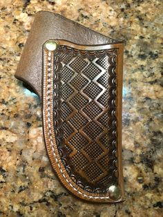 Leather Quiver, Leather Holster, Leather Art, Custom Leather, Leather Tooling, Axe Sheath, Knife Sheath, Buck 110, Leather Crafting