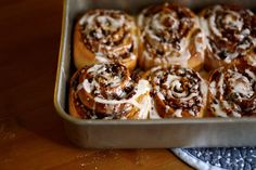 cream cheese cinnamon rolls.