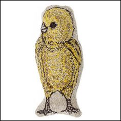 Find Chick Pocket Pillow and more decorative pillows at Coral and Tusk. Shop from the best embroidered linen accent pillows to add style and comfort to your home. Coral And Tusk, Sewing For Kids, Linen Fabric, Accent Pillows, Decorative Pillows, Original Artwork, Objects, Owl, Creatures