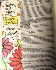 Leviticus 22 a reminder to keep the Lord's commandments. Leviticus 22 a reminder to keep the Lord's commandments. Scripture Art, Bible Art, Bible Verses, Bible Quotes, Scriptures, Bible Journaling For Beginners, Bibel Journal, My Journal, Journal Ideas