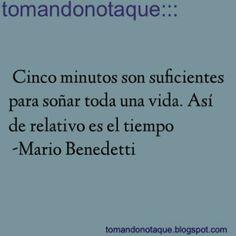 """""""Frases de Sueños Mario Benedetti"""""""