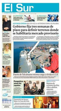 Reportaje Diario El Sur /25 de Abril 2014.