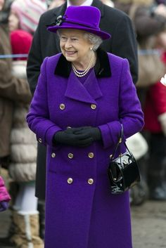 The Queen attends church in West Newton 3 Feb 2013