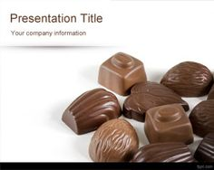 Chocolates PowerPoint Template is a free food PowerPoint template with delicious chocolate images in the slide design