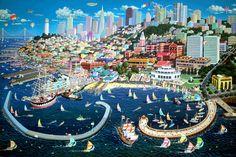 San Francisco Bay - Alexander Chen