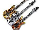 42 inch Animal Print Guitars