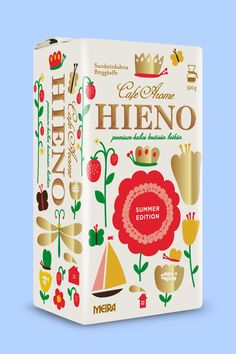 Hieno coffee packaging