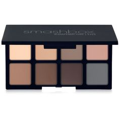 Smashbox Photo Matte Eyes Travel Palette ($24) ❤ liked on Polyvore featuring beauty products, makeup, eye makeup, eyeshadow, no color, smashbox eyeshadow, smashbox eye shadow, smashbox, eye brow makeup and palette eyeshadow