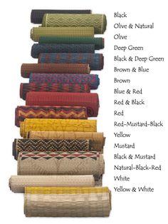 Colour range available