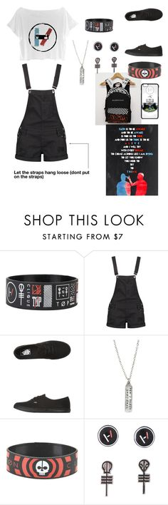 """Twenty One Pilots"" by adriana4-life on Polyvore featuring Boohoo and Vans"