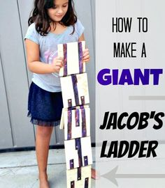 Munchkins and Moms: How to Make a Giant Jacob's Ladder Toy
