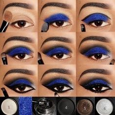makeup step by step Step By Step Blue Eye Makeup Pictures, Photos, And Images For . Step By Step Blue Pictures, Photos, and Images for eye makeup step by step - Eye Makeup Blue Eye Makeup, Smokey Eye Makeup, Love Makeup, Makeup Tips, Beauty Makeup, Makeup Looks, Hair Makeup, Makeup Ideas, Makeup Light