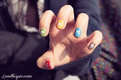 nails nail nail art candy cool