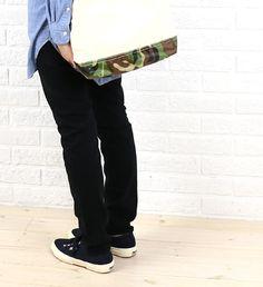 "caqu(サキュウ) コットン カラー スキニー パンツ  ""FS Color Skinny""・24103  #caqu Black Jeans, Pants, Fashion, Trouser Pants, Moda, Fashion Styles, Black Denim Jeans, Women's Pants, Women Pants"