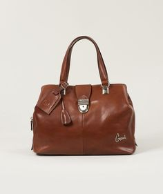 Consuela Tawny Signature Medium Handbag