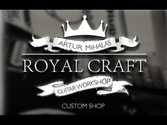 ROYAL CRAFT GUITARS OFFICIAL - YouTube