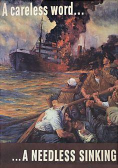 Anton Otto Fischer, 1942 WWII Poster