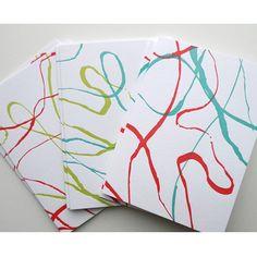 Inklines Letterpress Note Set