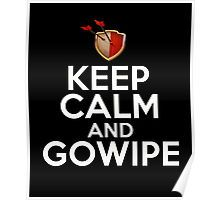 Keep Calm And GoWiPe Clash of Clans, Logo, Funny, Geek, Style Poster