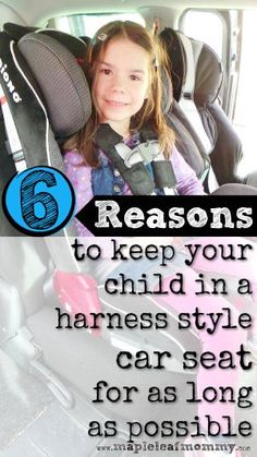 Switch to a booster or stick with a car seat? Some parents go with a booster seat as soon as they can, but there are important reasons to keep a child in a five point harness system until five years and beyond. Safety comes first.