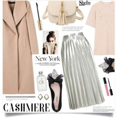 How To Wear Powder & Cashmere Outfit Idea 2017 - Fashion Trends Ready To Wear For Plus Size, Curvy Women Over 20, 30, 40, 50