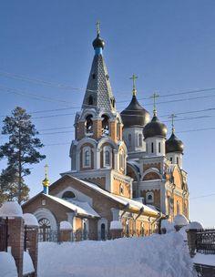 Собор Рождества Пресвятой Богородицы в Новосибирске