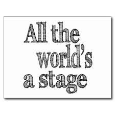 Image result for stage quote Stage Quotes, Theatre Quotes, Graduation Cap Designs, Graduation Cap Decoration, Graduation Ideas, College Aesthetic, After High School, Cap Decorations, Grad Cap