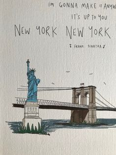 New York Life, Nyc Life, New York Art, Frank Sinatra Art, New York Quotes, Empire State Of Mind, New York City Travel, City Aesthetic, Dream City