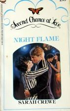 USED (GD) Night Flame (Second Chance at Love) by Sarah Crewe