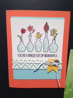 SU! Vivid Vases Wood #133818 $14.95 CAD (p.20) To order Stampin'Up! products, please visit my blog at www.stampinjo.stampinup.net