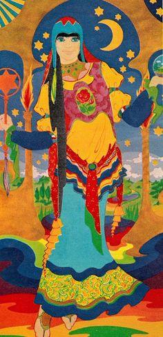psychedelicway:  Marijke Koger (The Fool) - 1967