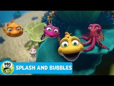 SPLASH AND BUBBLES | Theme Song | PBS KIDS - YouTube Pbs Kids Videos, More Games, Watch Full Episodes, Game App, Working With Children, Theme Song, Singing, Bubbles, Songs