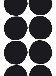 Isot Kivet -kangas (valkoinen,musta) | Kankaat, Puuvillakankaat | Marimekko