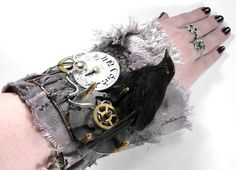 Hey, I found this really awesome Etsy listing at http://www.etsy.com/listing/51464027/steampunk-cuff-wrist-cuff-3d-caged-black